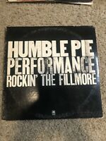 Humble Pie Performance Rockin' The Fillmore on A&M Records 2LP/Gate Fold Cover