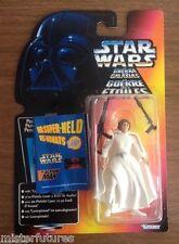 1995 Star Wars POTF Trilogo Princess Leia Tonka 8 Back w/ Kenner Catalog MOC