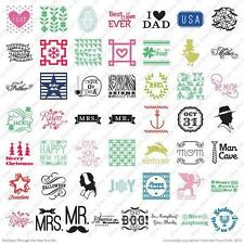 CRICUT *HOLIDAYS THROUGH THE YEAR IRON ON* HOME CARTRIDGE *NEW*
