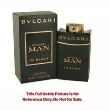 BULGARI MAN BLACK Eau de Parfum 6 mL BOTTLE SAMPLE Travel Size Atomizer Perfume