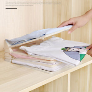 5/10pcs Clothes Organizer Lazy Folding Board Stackable for T Shirt Wardrobe Home