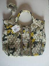 NWT Vera Bradley Two Way Tote Retired Dogwood Pattern