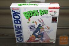 Bugs Bunny Crazy Castle 1st Print (Game Boy, Gameboy 1990) H-SEAM SEALED! - EX!
