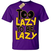 Kids Boys Girls Too Lazy T-Shirt Funny gift