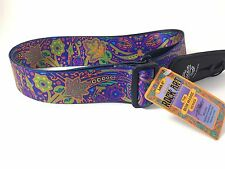 LOCK-IT Guitar Strap  Bob Masse Series - Blue Journey Patented Strap Locking