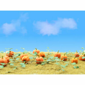 "JTT Scenery Products - Pumpkins -- 2-1/2"" 6.4cm Long pkg(6) - O"