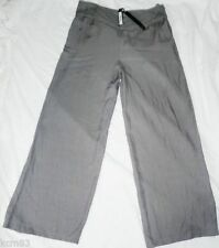 Wide Leg Mid Rise 32L Trousers NEXT for Women