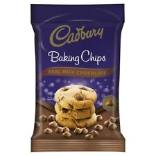 Cadbury Perfectly Shaped Real Milk Chocolate Made Baking Chips Pack 200g