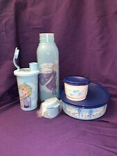 New Tupperware Frozen II Snack Set And Water Bottle. Disney Elsa