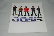 Oasis Tour Program 2000 pamphlet / Liam Gallagher Noel Gallagher
