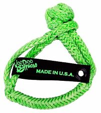 """Voodoo Offroad GREEN Synthetic Rope SOFT SHACKLE 1/2"""" x 8"""""""