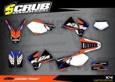 KTM graphics EXC 125 200 250 300 380 400 520 1998 2002 '98 '99 '00 '01 '02 decal
