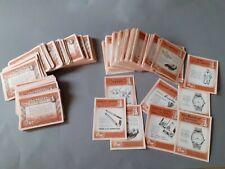 More details for 544 x vintage kensitas (old street) cigarette gift coupons tokens certificates