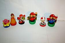 Lot 6 Super Mario Splatoon Amiibo Kirby Daisy 8 Bit Mario Kirby Inkling Nintendo