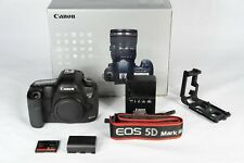 Canon EOS 5D Mark III Digital SLR Camera (body and accessories)