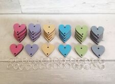 30 Extra Heart Disks Tags And Links For Birthday Boards. Celebrations Organiser