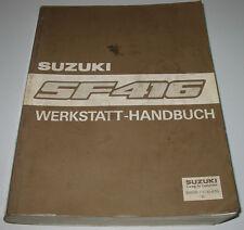 Werkstatthandbuch Suzuki Swift SF 416 Motor Getriebe Klima Bremse Lenkung 1991!