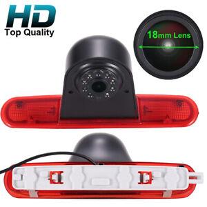 HD Car rear view reverse Camera for Fiat Doblo 263 opel conbo Brake light vans