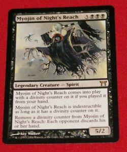 Magic The Gathering Myojin of Night's Reach Champions of Kamigawa Used