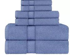 6 Piece Towel Set 900 Gsm Soft 100% Cotton 2 Bath, 2 Hand towels, 2 Washcloth