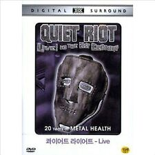 QUIET RIOT - LIVE in the 21st Century DVD (NEW) / NO CASE (Only Cover & Disc)