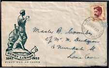 Australia 1949 2-1/2d Anniversary Of Henry Lawsons Birth Fdc - Used