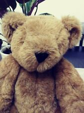 Vermont teddy bear company brown plush with moveable joints 13 inches