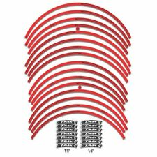 "ADHESIVE STRIPS FOR WHEELS 14"" e 15"" TMAX 2001 - 2007 - RED"