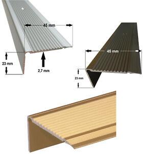 Treppenprofil, Treppenschiene, Stufenleiste, Treppenwinkel [ 15 ]