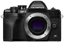 Olympus OM-D E-M10 Mark IV schwarz Gehäuse Einzelstück , neu #OK