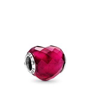 Genuine Pandora Charm Sterling Silver Shape Of Love Heart 796563NFR