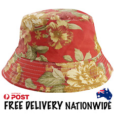 bf896efbed8  NEW  Bucket Hat - Lucky Red Canvas - Free Delivery Nationwide.