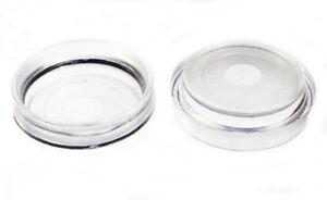 Paquet De 100 Roulette Tasses Meuble Protection Sol Glisse Plastique Transparent