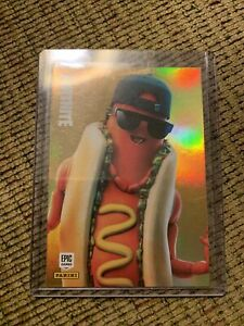 Fortnite Series 2 - THE BRAT - Rare Outfit HOLO FOIL #102