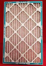 Flanders MERV 8 Air & Furnace Filters Pleated 16x25x1 85156.011625 CASE OF 12