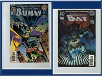 2 DC Comics 1994: Both Batman #0 Oct Shadow of the Bat & Detective Comics Featur