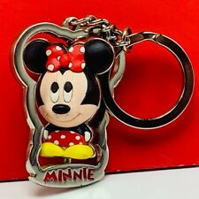 Minnie Mouse keychain walt disney spinner key chain mickey friends disneyland