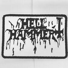 Hellhammer Patch Embroidered Iron/sew Limited Black Metal Venom Mayhem 1Burzum