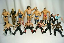 Mixed Lot Pro Wrestler Action Figures Jakks Mattel Wwe etc