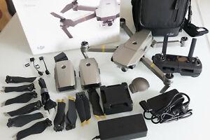 DJI Mavic Pro Platinum Fly More Combo Drohne - Silber