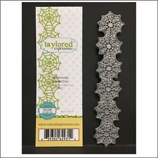 SPIDERWEB BORDER  metal die cut - Taylored Expressions dies TE109 for Halloween