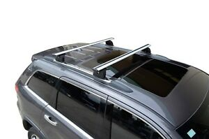 Alloy Roof Rack Cross Bar & Fitting Kit for Jeep Grand Cherokee WK 2010-20 120cm