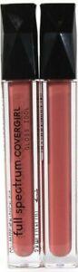 2 Count Covergirl 0.12 Oz Full Spectrum FS125 Blessed High Shine Lip Gloss Idol