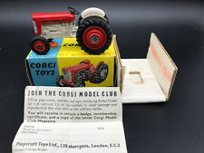Corgi 51 Massey Ferguson 65 Tractor - N Mint In Box With Packing & Leaflet