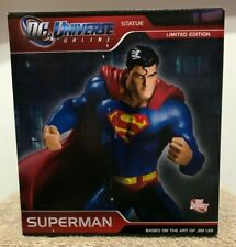 "DC Universe Online SUPERMAN 7"" Ltd Ed Statue #727/5000 by Jim Lee DC Direct MIB"