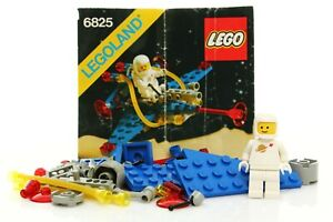 Lego Classic Space Set 6825 Cosmic Comet 100% complete + instructions rare 1988