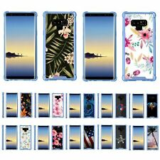 For Samsung Galaxy Note 9 N960 Slim Fitted Flexible TPU Case Shock Bumper Blue