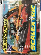 scalextric 36 Track Plans