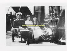 "mm429 -Czar Nicholas II Romanov & family relax on Yacht 1907 -Royalty photo 6x4"""