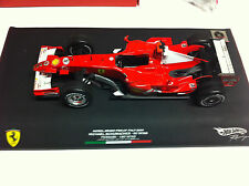 Hot Wheels 2006 M. Schumacher Ferrari Monza 90 Wins Signed Figurine 1/18